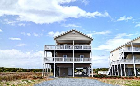 Exterior View - 1247 New River Inlet Road - North Topsail Beach - rentals
