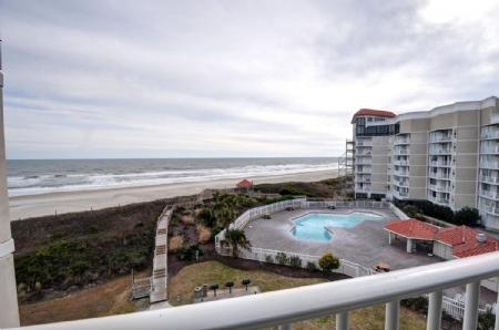 Balcony View 2 - 3305 St. Regis - North Topsail Beach - rentals