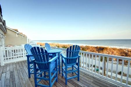Deck Furniture - 314 Sea Star Village - Surf City - rentals