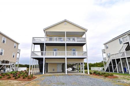 Exterior View - 1251 New River Inlet Road - North Topsail Beach - rentals