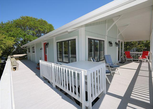 Bocce Cottage - Great sound view house with large porches and a bocce court - Image 1 - Wrightsville Beach - rentals