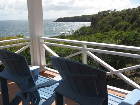Marlin Villa's beautiful views - upper deck - Marlin Villa, Belle Isle - Saint David's - rentals