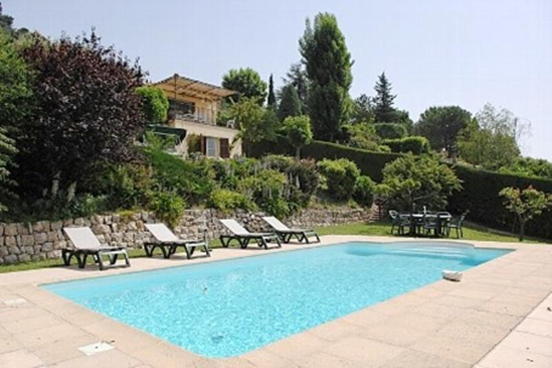 Private pool, 9 metres in length by 4.5 metres in width - Sea View of Cote D'Azur, Superb Pet-Friendly Villa - Saint-Jeannet - rentals