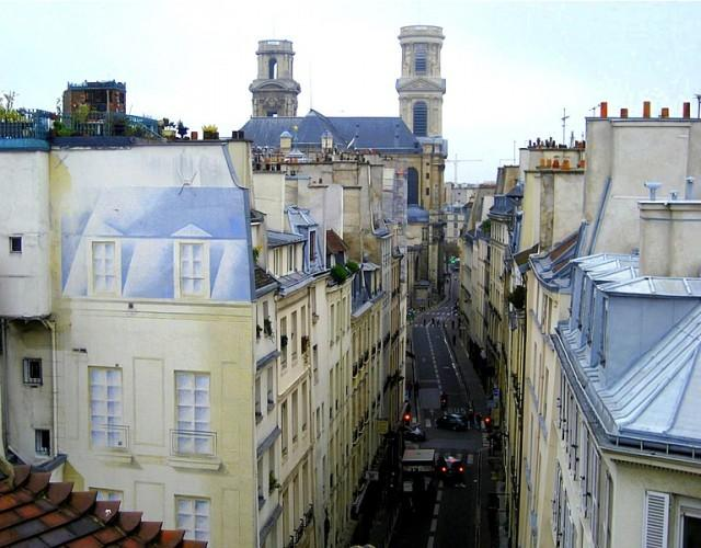 One bedroom apartment with St Sulpice Church view - Image 1 - Paris - rentals