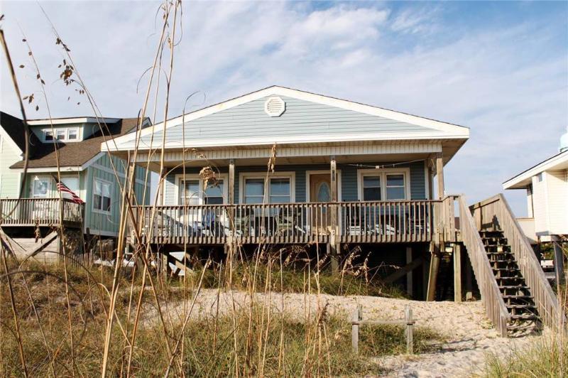 Blockade Runner 107 West Beach Drive - Image 1 - Oak Island - rentals