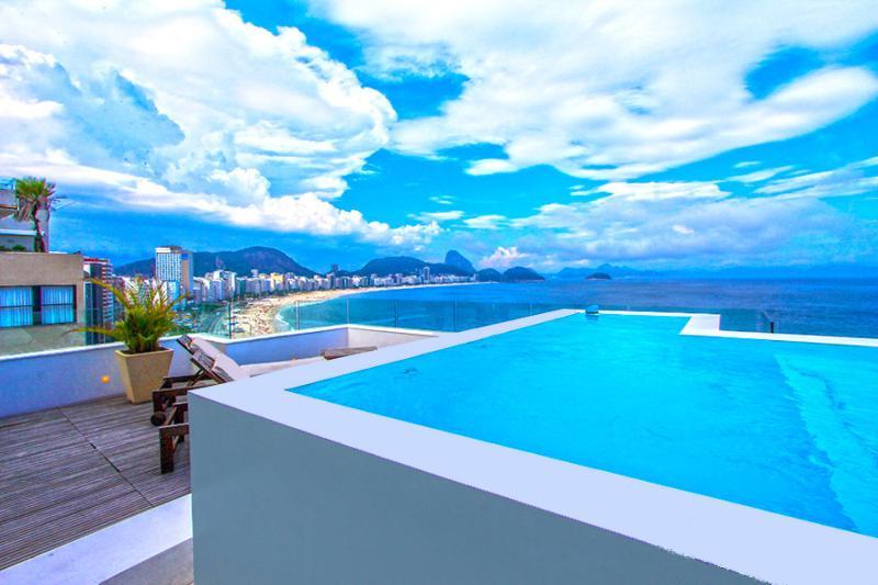 Oceanfront Luxury Penthouse Copacabana - Image 1 - Rio de Janeiro - rentals
