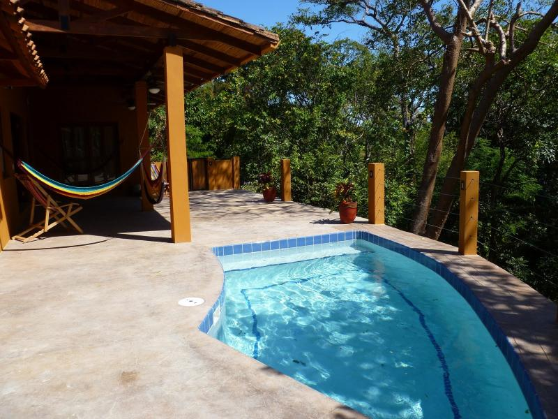 Private Pool overlooking the Jungle Canopy and the Pacific Ocean - Casa Cresta Private House near Maderas & Marsella - San Juan del Sur - rentals