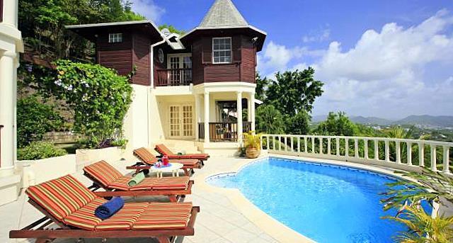 Residence du Cap - Image 1 - Saint Lucia - rentals