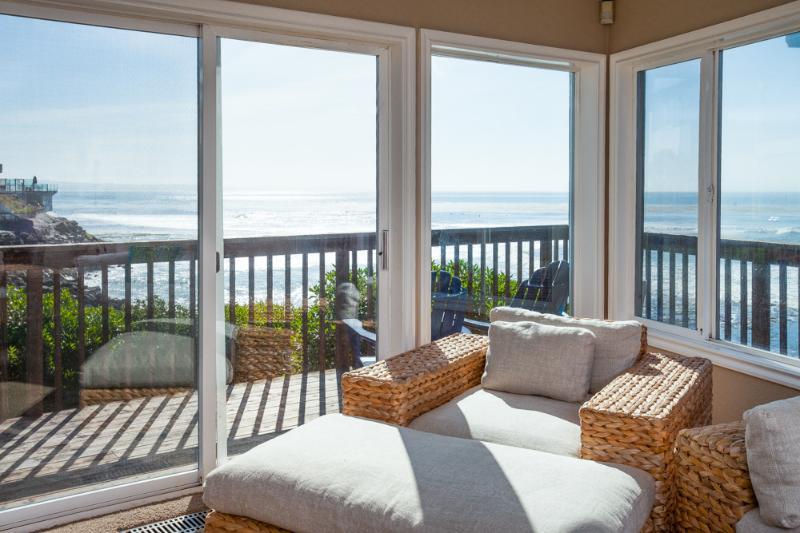 Amazing Ocean view from the living room - PLEASURE POINT SURF HOUSE - Santa Cruz - rentals