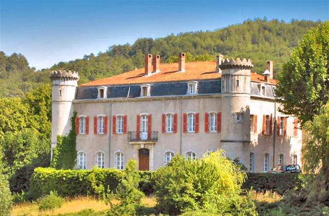 Chateau De Bouji And Gites - Image 1 - Chomerac - rentals