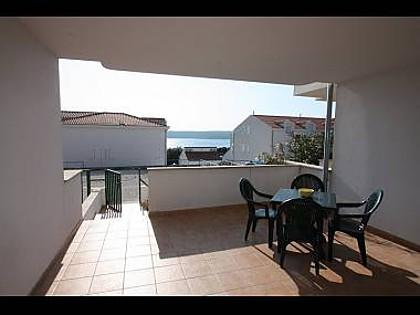 B2(2+2): covered terrace - 4421 B2(2+2) - Milna (Brac) - Milna (Brac) - rentals