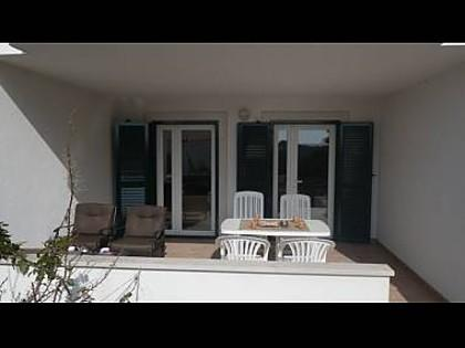 B4(4+2): covered terrace - 4421 B4(4+2) - Milna (Brac) - Milna (Brac) - rentals