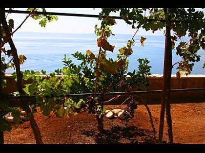 A2(4): terrace view - 4807 A2(4) - Cove Puntinak (Selca) - Cove Puntinak (Selca) - rentals