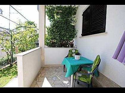 SA1 prizemlje (2+1): terrace - 3277 SA1 prizemlje (2+1) - Novigrad - Novigrad - rentals