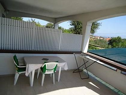 SA3(2+1): covered terrace - 5055 SA3(2+1) - Kukljica - Kukljica - rentals