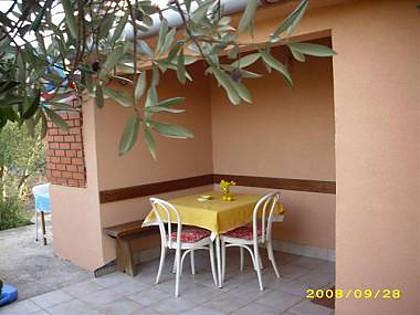 H(4+1): terrace - 5495  H(4+1) - Cove Jaz (Brbinj) - Sali - rentals
