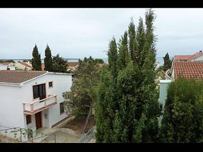 A4-drugi kat(6): terrace view - 5522 A4-drugi kat(6) - Vir - Vir - rentals