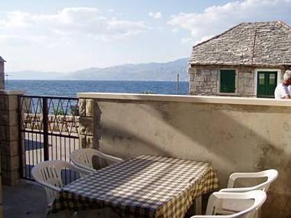 A1(4): terrace - 02401POST  A1(4) - Postira - Postira - rentals