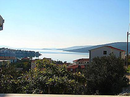 A1(2+1): sea view - 0107SEGV A1(2+1) - Seget Vranjica - Seget Vranjica - rentals