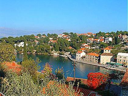 sea view (house and surroundings) - 01201SPLI  A1(4) - Splitska - Splitska - rentals
