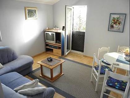 Plavi(2+2): living room - 5797 Plavi(2+2) - Ribarica - Croatia - rentals