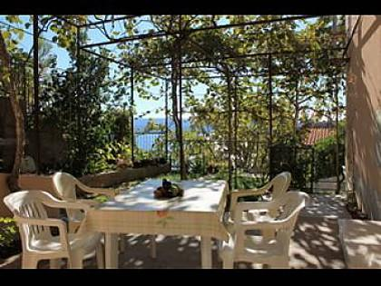 A2(2+2): garden terrace - 00309STAN  A2(2+2) - Stanici - Stanici - rentals