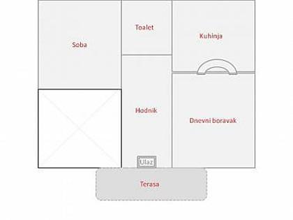 H(8+1): floor plan - 6081 H(8+1) - Brna - Brna - rentals