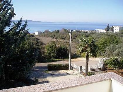 A32(2+2): terrace view - 7147  A32(2+2) - Zadar - Zadar - rentals