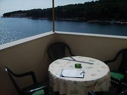 A(2): terrace - 7212  A(2) - Luka (Island Prvic) - Srima - rentals