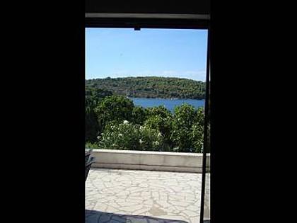 A(2+2): terrace view - 00502NECU A(2+2) - Necujam - Necujam - rentals