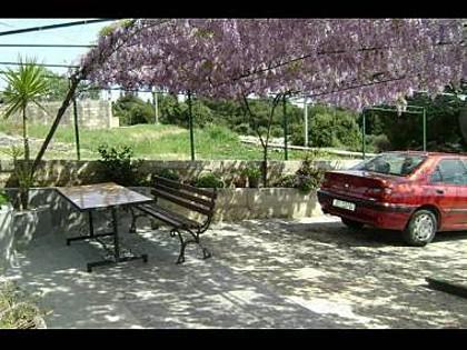 A1(3+2): terrace - 7887  A1(3+2) - Seget Donji - Seget Donji - rentals