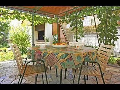 A(4+1): terrace - 7968  A(4+1) - Turanj - Turanj - rentals