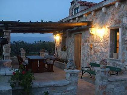 H(4+1): terrace - 8057  H(4+1) - Supetar - Supetar - rentals