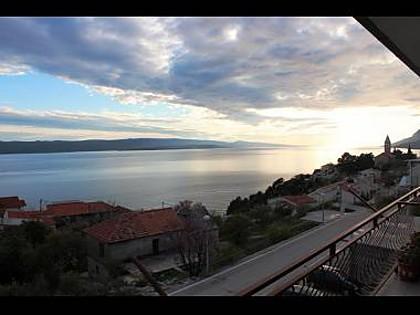 SA2(3): balcony view - 8103 SA2(3) - Brela - Brela - rentals