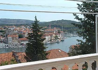 A1(4+1): terrace view - 02001MILN A1(4+1) - Milna (Brac) - Milna (Brac) - rentals