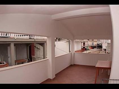 Crveni (2+1): terrace - 2195 Crveni (2+1) - Hvar - Hvar - rentals