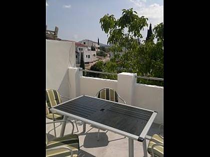 A2(2+2): terrace - 002ROGO A2(2+2) - Rogoznica - Rogoznica - rentals