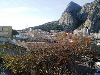 A3(2+3): view - 00109OMIS A3(2+3) - Omis - Central Dalmatia - rentals