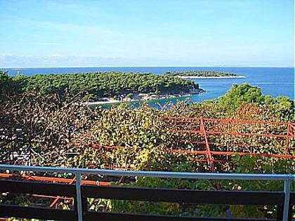 SA2 (2): terrace view - 00306PRIM SA2 (2) - Primosten - Primosten - rentals