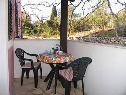 A1(2): balcony - 013-04-MAS A1(2) - Maslinica - Maslinica - rentals