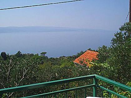 A1(4): balcony view - 01713BREL A1(4) - Brela - Brela - rentals