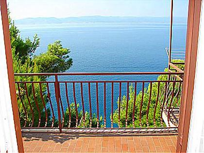 A1(6+1): terrace view - 02113BREL  A1(6+1) - Brela - Brela - rentals