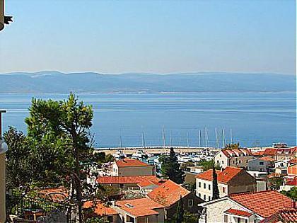 A3(2+2): terrace view - 01813BVOD A3(2+2) - Baska Voda - Baska Voda - rentals