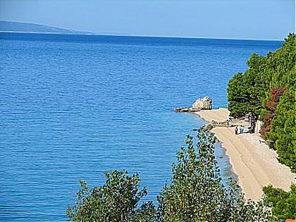 view (house and surroundings) - 00613BVOD  A1(6+2) - Baska Voda - Baska Voda - rentals