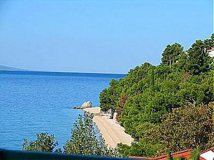 A1(6+2): terrace view - 00613BVOD  A1(6+2) - Baska Voda - Baska Voda - rentals