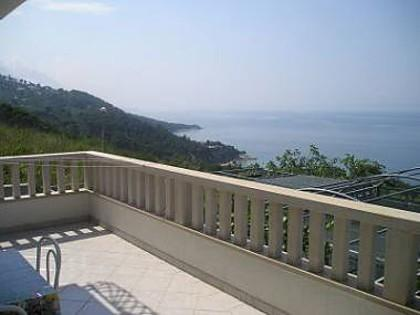 A1(2+2): terrace view - 02713BREL  A1(2+2) - Brela - Brela - rentals