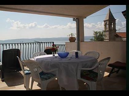 A4(4+1): terrace - 00709PISA A4(4+1) - Pisak - Pisak - rentals