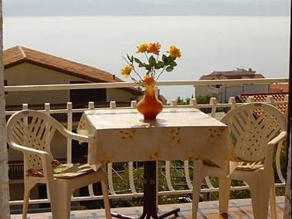 A1(3): terrace view - 01409STAN A1(3) - Stanici - Stanici - rentals