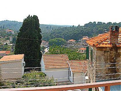 A2(2+1): balcony view - 00901SPLI A2(2+1) - Splitska - Splitska - rentals