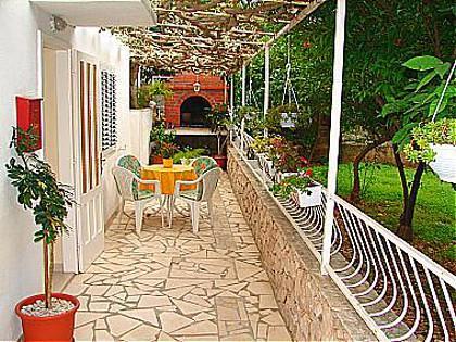 A1(4+2): garden terrace - 01717OREB A1(4+2) - Orebic - Orebic - rentals